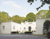 Geoffrey Beene's Oyster Bay Cove home.