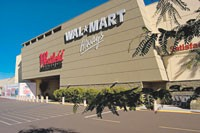 Wal-Mart is beginning to open stores at shopping malls.