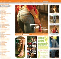 Like Shopbop.com, specific dot-com sites attracted 32 percent of shoppers.