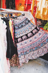 Tiered skirts will still be in play for fall and winter.