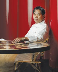 Chef Hisham Johari in Red 8.