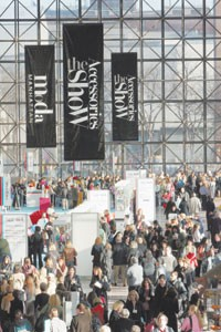 FAME, Moda Manhattan and AccesssoriesTheShow are held simultaneously at the Javits Center in New York.
