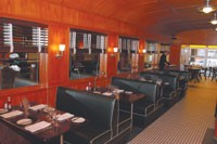 The interior of Automat.