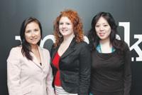 Jennifer Sagawa, Michelle McCabe and Cindy Lin of Mark.