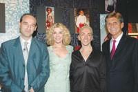 Patrice Louvet, Natasha Richardson, Brad Johns and Marc Pritchard.
