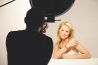 Jewel poses during The Healing Garden photo shoot.