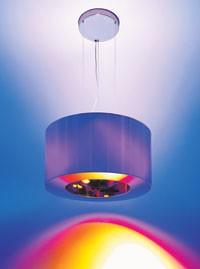 Mood-enhancing lights created by Artemide.