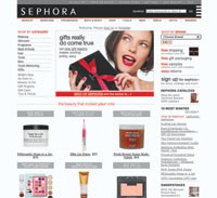 After drugstore.com, sephora.com is the most popular buying venue for beauty consumers shopping online.