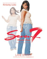 Kimberley Locke stars in the new campaign for Lane Bryant's Seven7 brand.