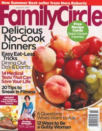 The current cover of Family Circle.