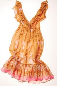 Calypso cotton dress.