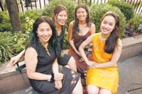 Metta Murdaya, Tami Chuang, Jillwen Sung and Yoshiko K. Roth of Juara.