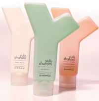 Items from the Yuki Sharoni Beauty & Lifestyle collection.