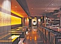 Double Seven's luxe interior.