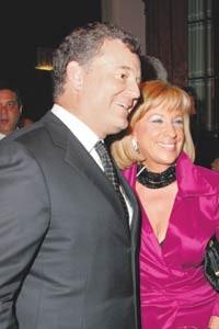 William Lauder and Barbara Zinn-Moore