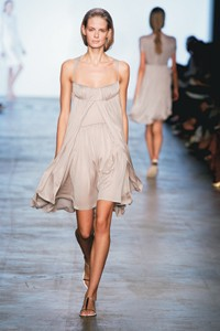 A spring look from Calvin Klein Collection.