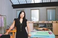 Helen Wang in her new SoHo store.
