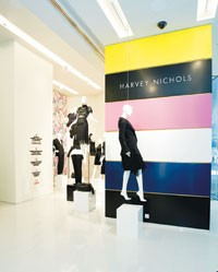 A look inside the new Harvey Nichols store in Hong Kong.