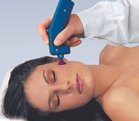 The Cynosure Triactive Laser Dermatology System in use.