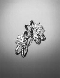 David Yurman's engagement rings.