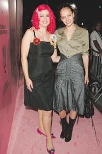 Tarina Tarantino and Bijou Phillips