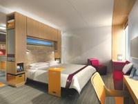 "A rendering of an ""aloft"" room."