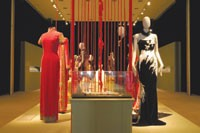 Zang Toi's designs on display at the Kennedy Center.
