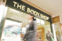 The Body Shop's Oxford Street store in London reflects the chain's new format.