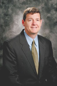 Luke McCollum, director of information systems, Wal-Mart Stores.