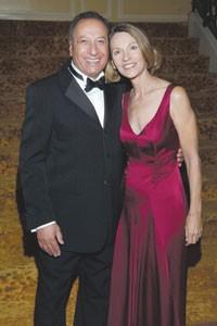 Moshe Tsabag and wife Gabrielle.