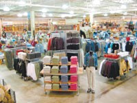 Here, a Columbia Sportswear shop at a Gander Mountain store. Columbia devotes a small group of staff to staying on top of chargebacks and retailer compliance.