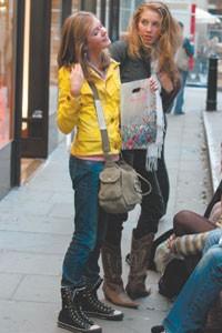 Looks in London: on Neal Street in Covent Garden ...