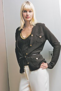 Spring look from Andrea Jovine.