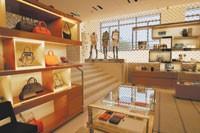 Inside the new Louis Vuitton store on Champs-Elysées.