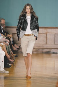 A spring 2006 look from Luella Bartley, who will be showcased in Target's Go International program.