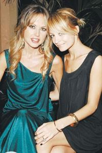 Rachel Zoe Rosenzweig and Nicole Richie