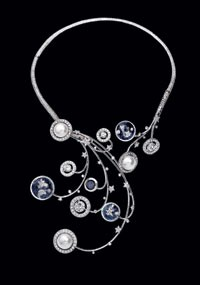 A necklace from Chanel's new Elements Celeste collection.