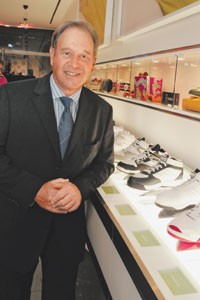Reebok ceo Paul Fireman is readying for the sale of his company.