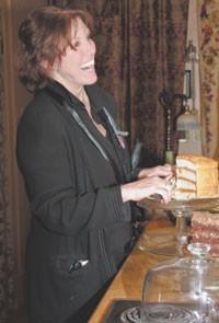 Pat Kerr in her Memphis kitchen.