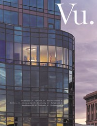 The cover of Vu.