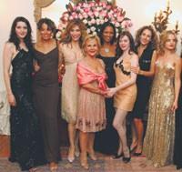 Jo Champa, Anna Molinari, Garcelle Beauvais, Rose McGowan, Melina Kanakaredes and Mena Suvari.