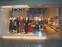 The new DKNY Las Vegas unit is a prototype for future stores.