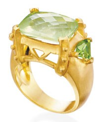 A Mazza Co. ring.