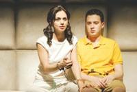 """Eliza Dushku and Eddie Kaye Thomas in """"Dog Sees God."""""""