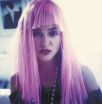 """A shot of Madonna taken by her friend, Maripol, shortly before the release of """"Like a Virgin."""""""