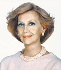 Carol Phillips before her retirement.