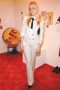 Chloë Sevigny in Dolce & Gabbana.