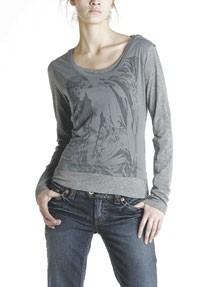 A look from Silver's line of tops.