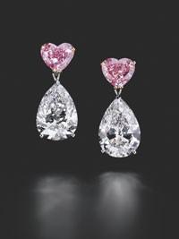 Chopard's Haute Joaillerie earrings.