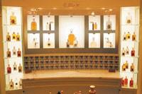 Inside La Maison Guerlain at Bergdorf's.